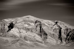 Rough mountains near Death Valley Junction Stock Photo