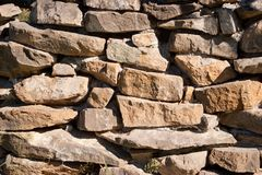Rough natural stone Stock Photos