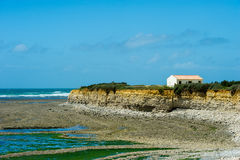 Rough north cape island Oleron Royalty Free Stock Photography