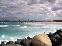 Rough ocean stock photography