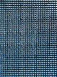 Rough old blue plastic texture closeup Royalty Free Stock Photo