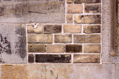 Rough old brick wall Stock Photography