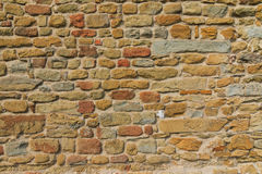 Rough old brick wall Royalty Free Stock Photos