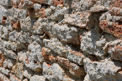 Rough old bricks Stock Photography