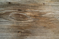 Rough old plank of wood. Photo of a rough wood board from a rustic old barn Royalty Free Stock Images