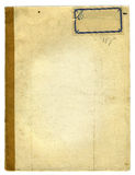 Rough Old School Notebook Texture stock photos