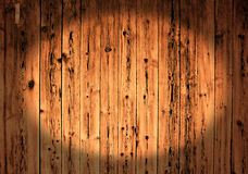 Rough painted planks. Weathered painted obsolete wooden rough planks Royalty Free Stock Image