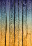 Rough painted planks Royalty Free Stock Photo