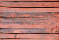Rough painted planks. Weathered painted obsolete wooden rough planks Stock Image