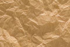 Rough Paper Background Brown Creased Wrinkled Texture Royalty Free Stock Images