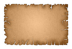 Rough parchment paper background Royalty Free Stock Photography