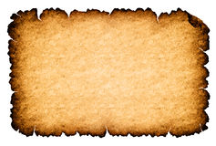 Rough parchment paper background Stock Images