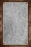 Rough pattern metal sheet background Stock Photos