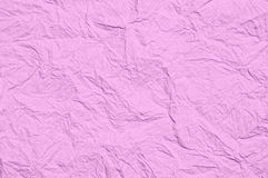 Rough pink paper. Royalty Free Stock Photos