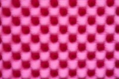 Rough pink sponge texture Royalty Free Stock Images