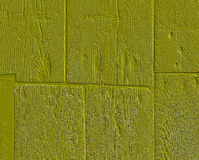 Rough planks. Weathered painted obsolete wooden rough planks Stock Photo
