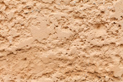Rough plaster wall Royalty Free Stock Image