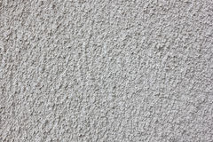 Rough plastered wall gray texture background Stock Photography