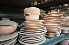 Rough Pottery Royalty Free Stock Image