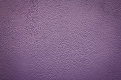 Rough purple wall texture Stock Photography