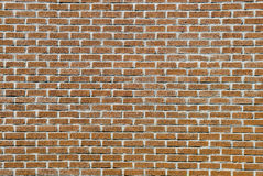 Rough red brick wall facade Royalty Free Stock Image