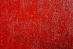 Rough red painted rusty metal surface, high resolution texture Stock Image