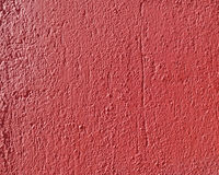 Rough red plaster closeup Stock Image