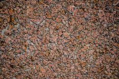 Rough red rock tile surface texture pavement design or tiles. royalty free stock image