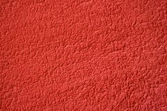 Rough red surface or texture Stock Image