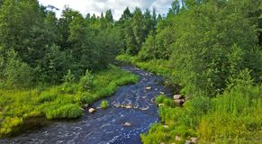 Rough River Royalty Free Stock Photo