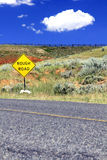 Rough Road Royalty Free Stock Image