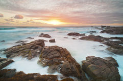 Rough, Rocky Coastline Stock Image