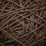 Rough rope background Stock Images