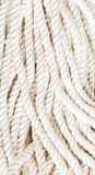 Rough rope background. Rough white rope abstract background Royalty Free Stock Photography
