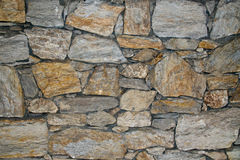 Rough sandstone Wall Stock Photo