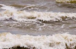 Rough sea background Stock Photo