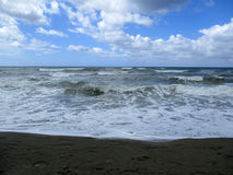 Rough sea c Stock Images