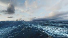 Rough Sea Loop 3D Improved New Version 4k