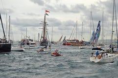 A Rough Sea Royalty Free Stock Photo