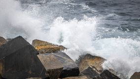 Rough sea Stock Image