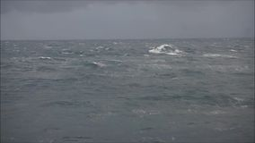 Rough Sea stock video