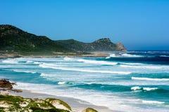 Rough seas at the Cape Peninsula. Rough seas and white water at the Cape Peninsula Stock Photo