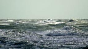 Rough seas crashing waves, 4K stock footage