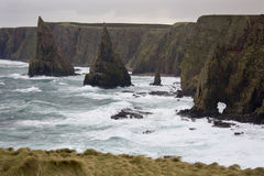 Rough Sea - John O Groats - Scotland Royalty Free Stock Image