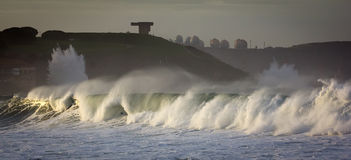 Rough seas landscape Royalty Free Stock Images