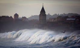 Rough seas landscape Royalty Free Stock Photo
