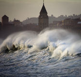 Rough seas landscape Stock Photography
