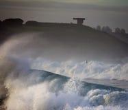 Rough seas landscape Royalty Free Stock Image