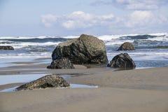 Rough seas Stock Images