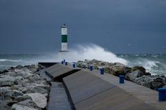 Free Rough Seas On Lake Michigan Stock Photos - 14578943